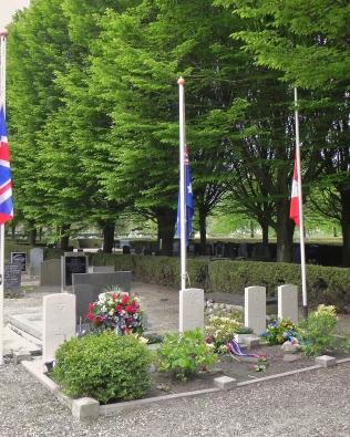 De militaire graven