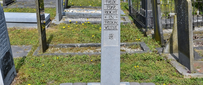 Verzetsnaald en gedenksteen van wijlen Albert Faber terug