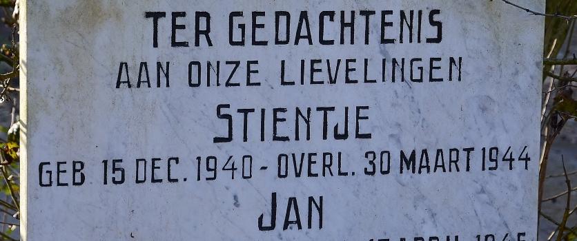 Het verhaal rond de dood van Jan Romkema en Anne Buwalda op 17 april 1945