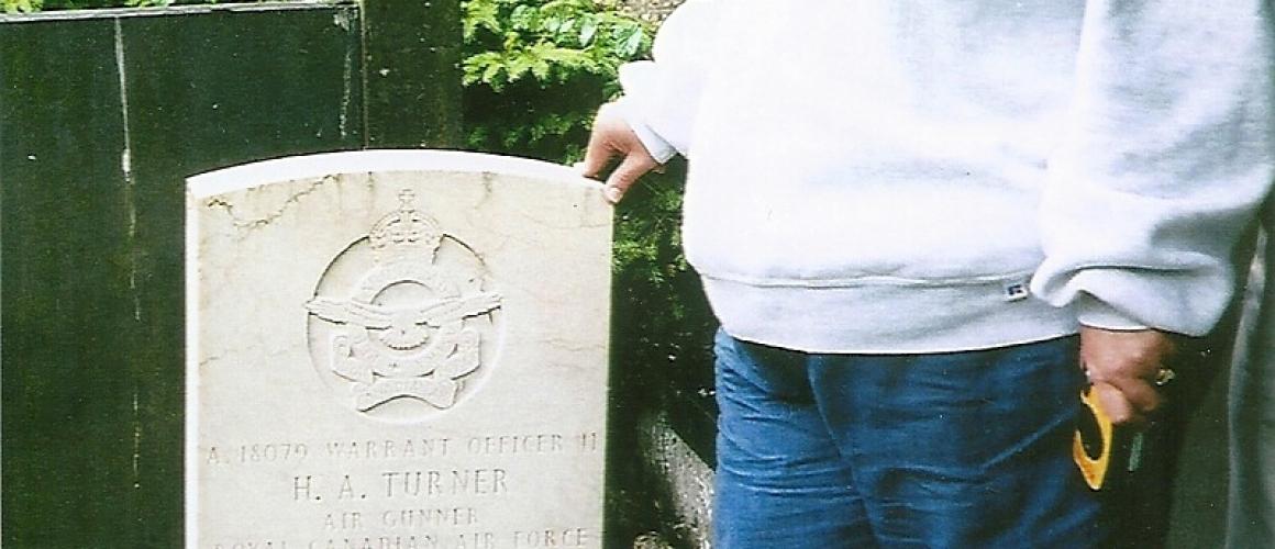 Canadese nabestaanden van wijlen Herbert Turner aanwezig bij Dodenherdenking op 4 mei